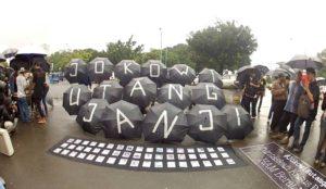 Kamisan (la protesta de los jueves)