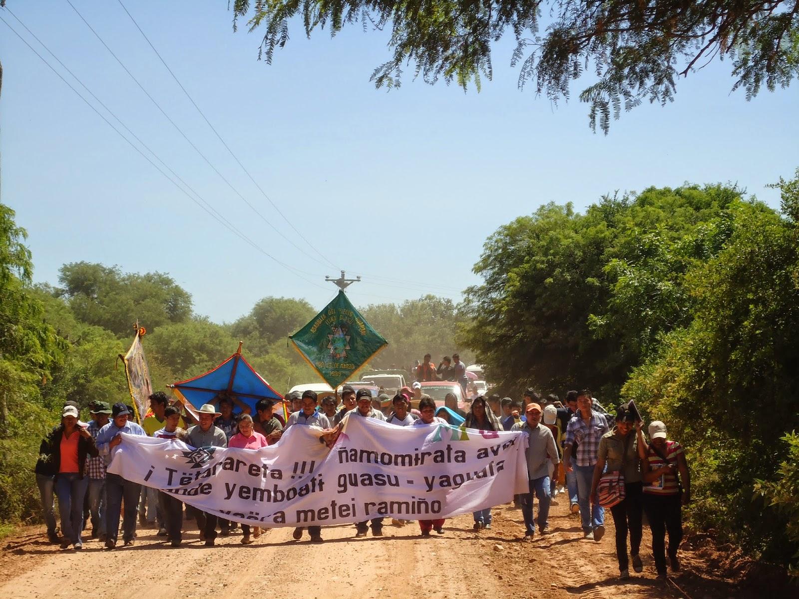 Ceremonies in 2015. Fotos: CCNAGUA.