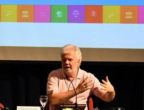Se inauguró el Curso Internacional de Derechos Humanos con la Conferencia Magistral de Uprimny Yepes
