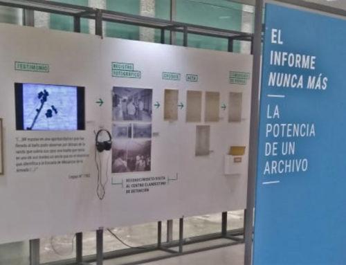 """LA MUESTRA ITINERANTE """"EL INFORME NUNCA MÁS"""" CONCLUYE SU RECORRIDO EN EL ARCHIVO NACIONAL DE LA MEMORIA (ANM)"""